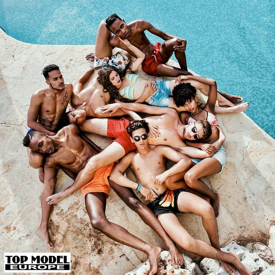 Top Model Europe @ the Tme Villa