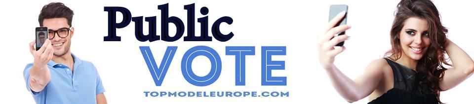 Top Model Europe - Public Vote
