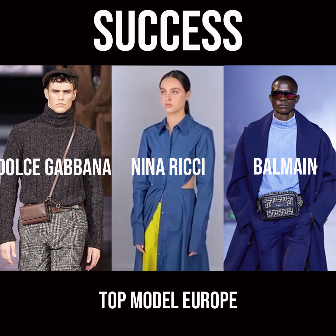 TOP MODEL EUROPE - SUCCESS